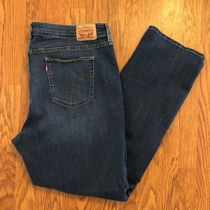 Levi's | 414 Classic Straight Dark Wash Jeans 20W